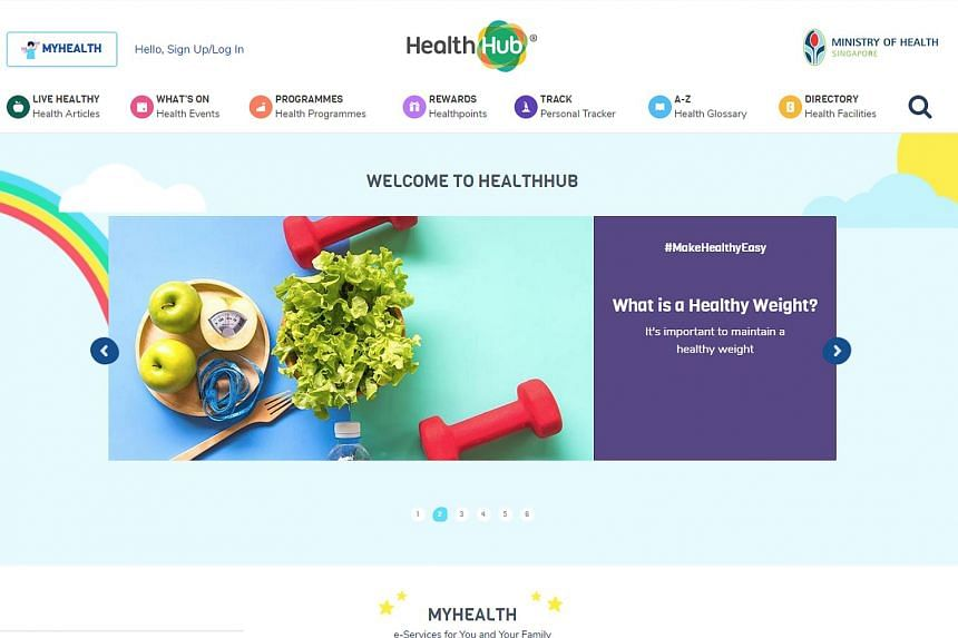 As a precautionary measure, access to the HealthHub mobile app and website was suspended from Oct 9 to 14. Access to the HealthHub mobile app and website has since been restored.