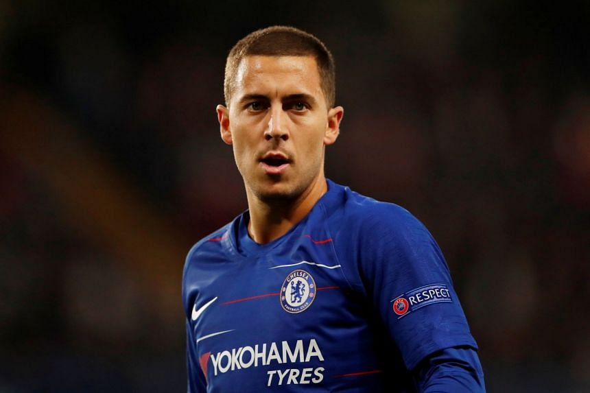 Hazard (above) has made no secret of wanting to play for Real Madrid.
