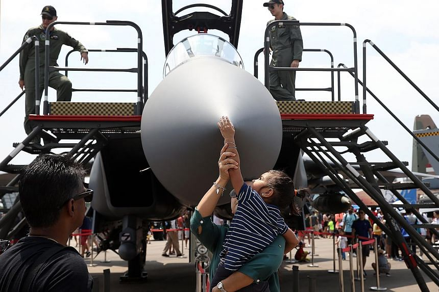 The Singapore Airshow 2018 from Feb 6 to 11 drew 54,000 trade attendees from 147 countries and regions - a 13 per cent increase compared with 2016. It also generated more than $343 million in spending - 4 per cent more than the show two years ago, ac