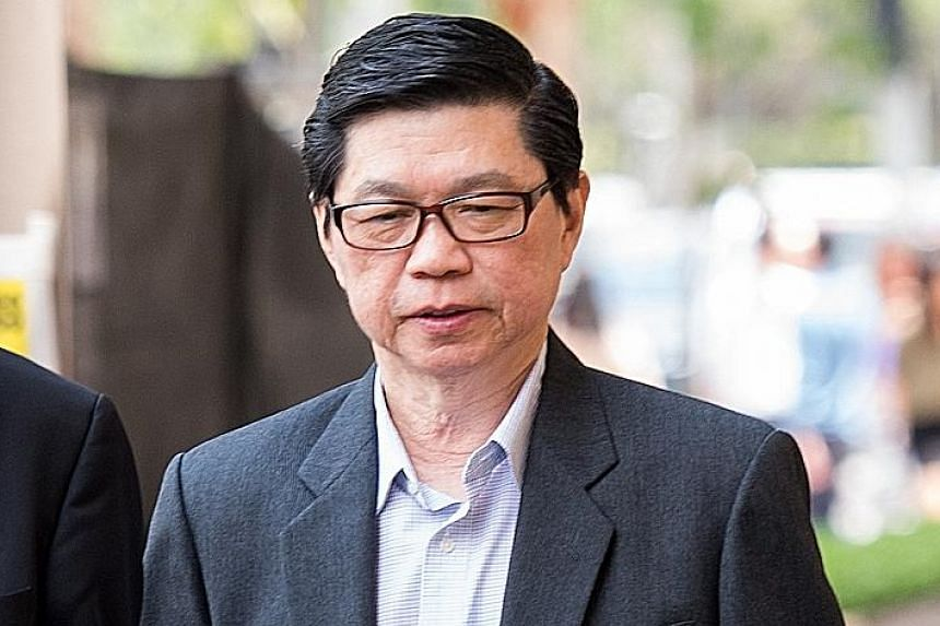 Wee Teong Boo is on trial for allegedly molesting and raping a patient at his clinic in 2015.