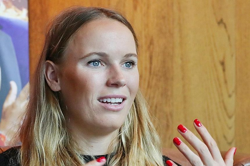 World No. 2 Caroline Wozniacki believes that winning the WTA Finals in Singapore last year gave her the confidence to clinch her maiden Grand Slam title at the Australian Open in January.