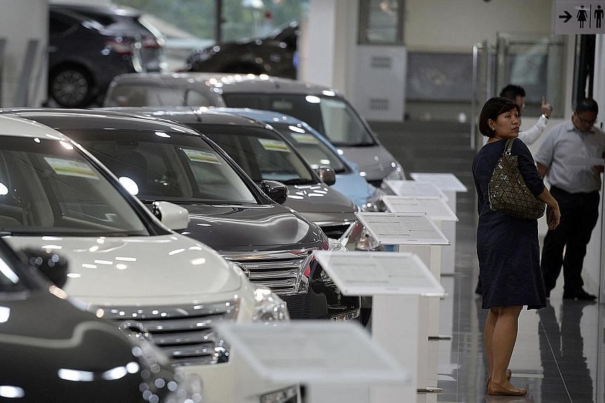 Prospective car buyers can look forward to 7,181 COEs a month in the three-month quota period from November, 3.9 per cent more than now.