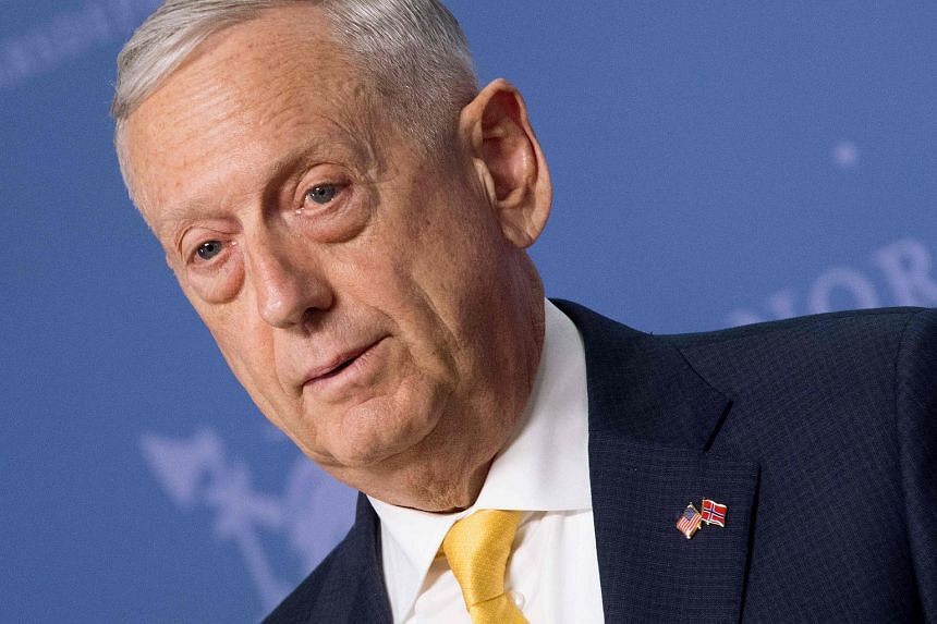 During a meeting with his Chinese counterpart, US Defence Secretary James Mattis sanded down some of the sharp edges from US Vice-President Mike Pence's pointed critique of China this month.
