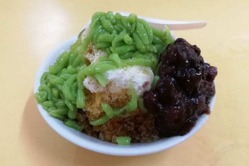 Every spoonful of the chendol from Old Amoy Chendol tastes absolutely fresh and not at all artificial.