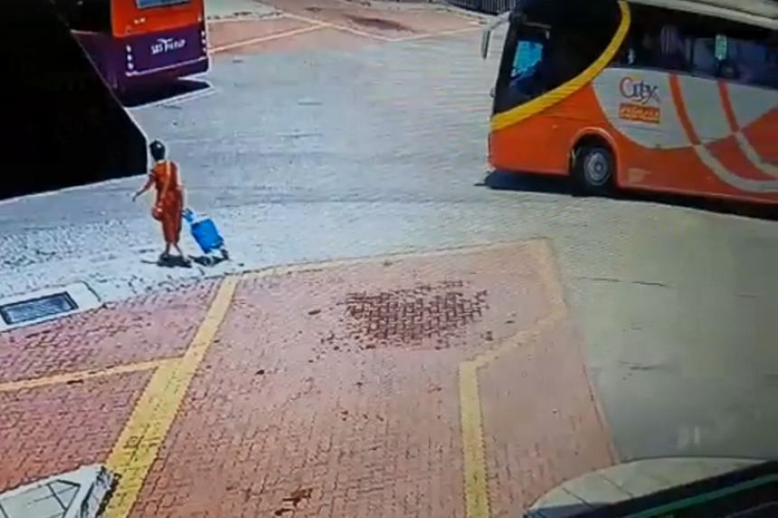 The victim, identified as Er Shok Siew, was at the station to board a bus home when the incident took place at around 1pm on Oct 19, 2018.