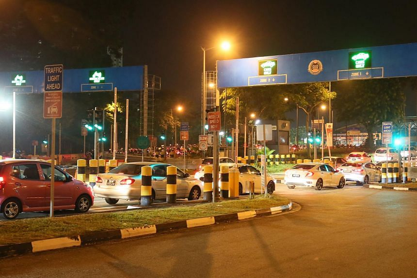 There are currently two crossings into Johor - the Causeway in Woodlands (pictured) and the Second Link in Tuas.
