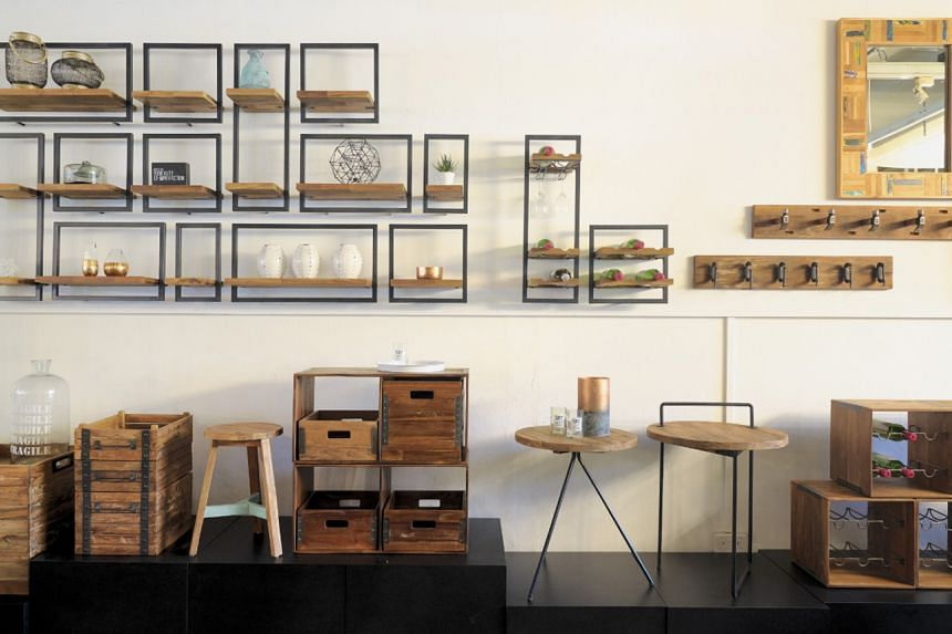 At local multi-label furniture store Journey East, about 80 per cent of the store's collection is environmentally friendly.