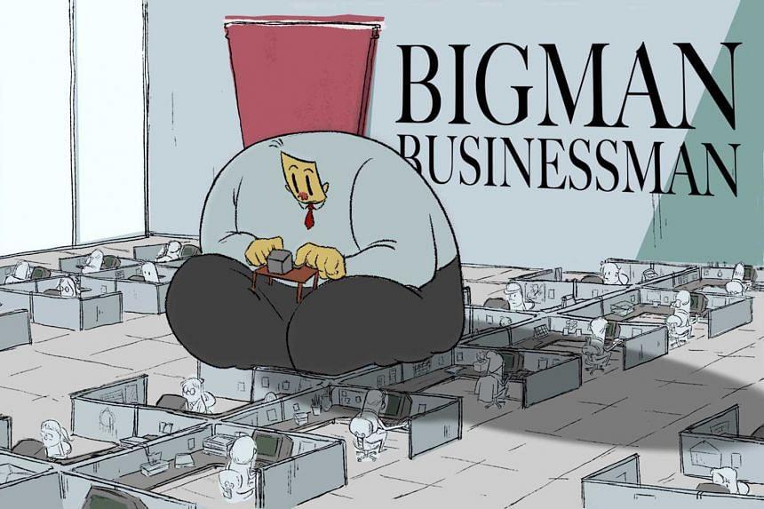 Bigman Businessman (above) .
