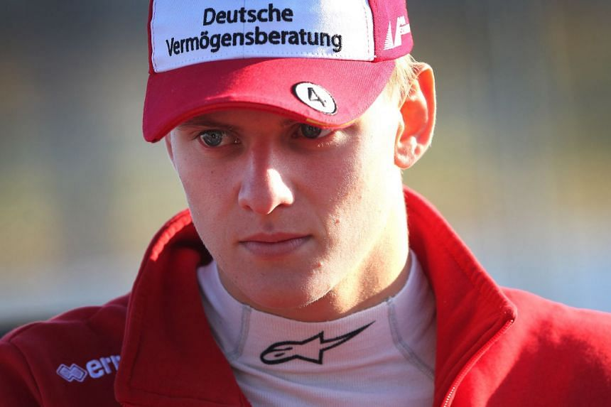 Schumacher (above) won the European Formula Three championship and is now qualified to race in Formula One.
