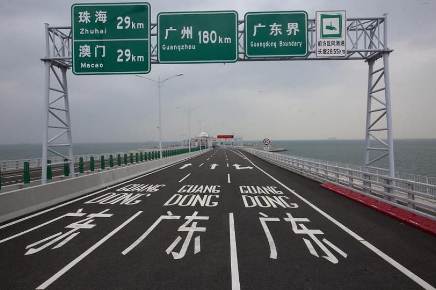A grand opening ceremony for the bridge will be held on Oct 23, 2018, in Zhuhai, China.