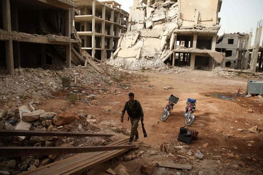 French President Emmanuel Macron's office said Paris wanted to ensure a ceasefire in Idlib remained in place to prevent a new exodus of refugees and to provide new momentum for peace talks.