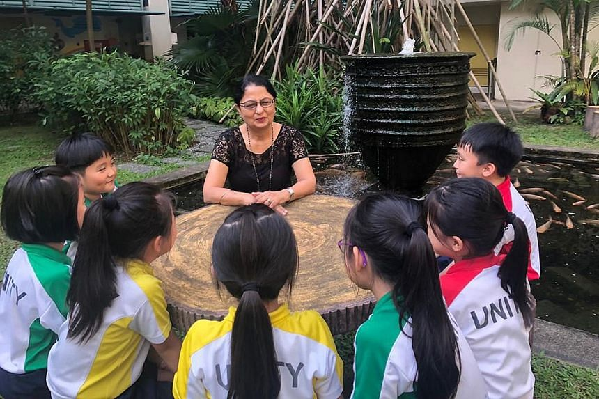 Mrs Jasmail Singh Gill, 62, principal of Unity Primary School for the past nine years, is among nine principals retiring this year. She has been principal for 21 years and says she has always found meaning in the job.