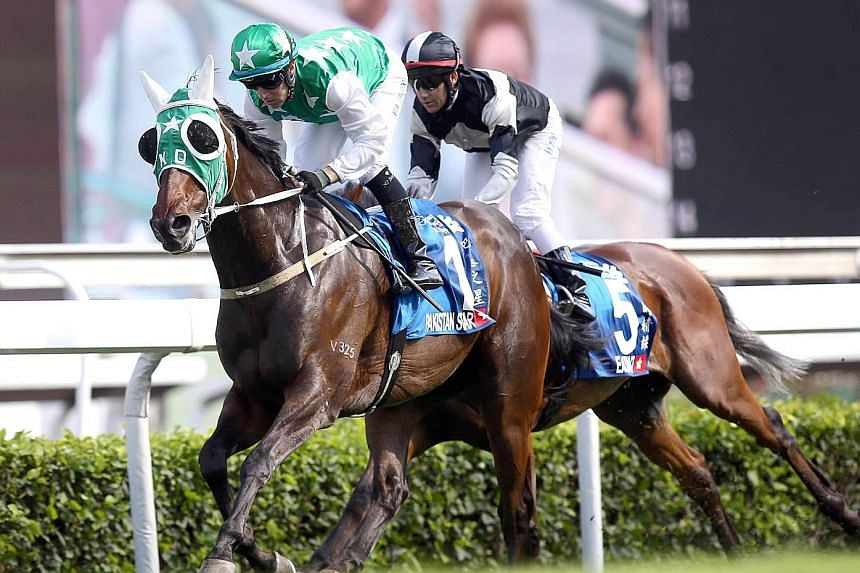 Pakistan Star winning the Champions and Chater Cup in style last time out and is the horse to watch in tomorrow's Group 2 Oriental Watch Sha Tin Trophy Handicap over 1,600m in Race 8.