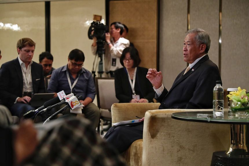 Defence Minister Ng Eng Hen said he is confident the Plus eight countries will adopt the air guidelines.