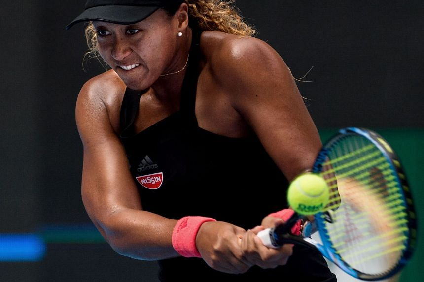 Naomi Osaka said she has no intention of altering her personality to cope with the growing attention.
