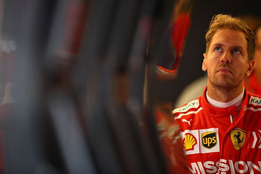 Sebastian Vettel was reported for a marginal speeding offence committed under red flag conditions.