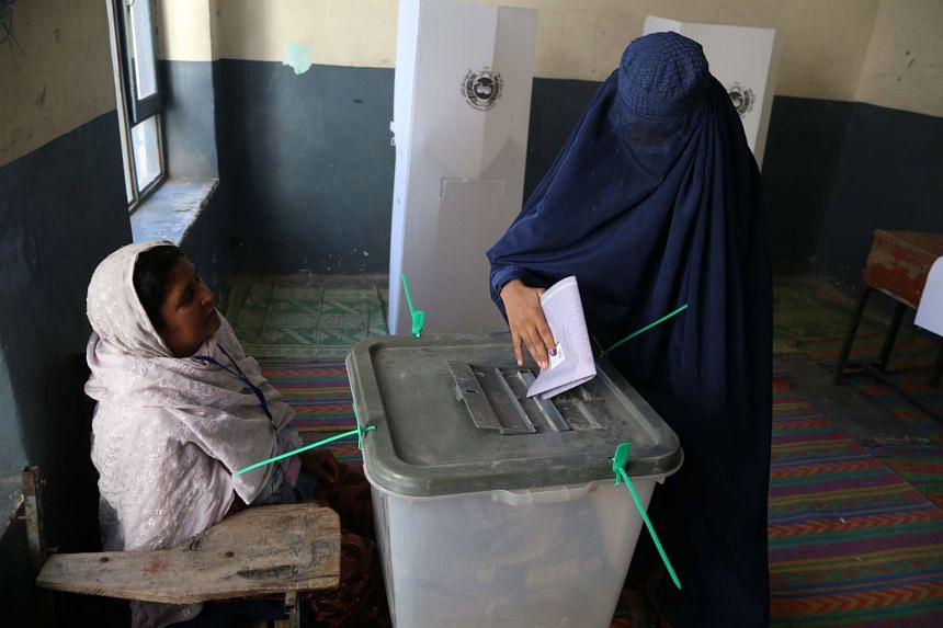 Due to the difficulty of collecting and collating results across Afghanistan, the overall results will not be known for at least two weeks.