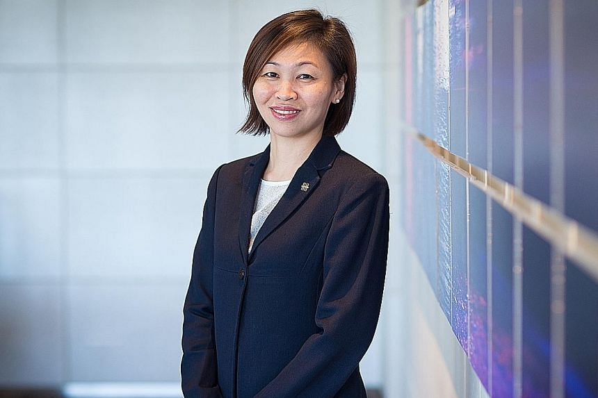 UOB's Ms Chung Shaw Bee encourages customers to plan early for retirement to benefit from the compounding effect of time.
