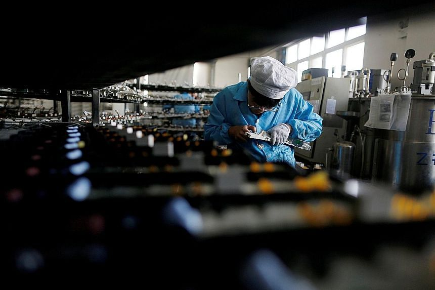 An electronics factory in Qingdao, Shandong province, China. With China shares down more than 20 per cent since January, the writer believes value has now emerged.