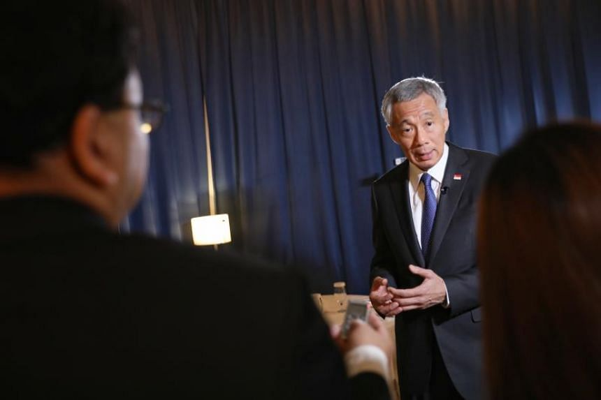 Prime Minister Lee Hsien Loong said he hopes the EU-Singapore Free Trade Agreement (FTA) signed last Friday will lead to an Asean-EU FTA, which is still in its early stages.