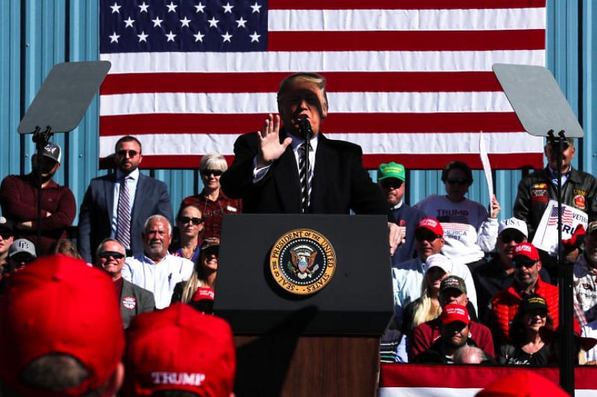 US President Donald Trump did not provide much details but said it could be a major tax cut for middle-income people.