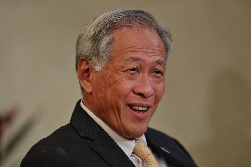 Defence Minister Ng Eng Hen's visit reflects Singapore's support for China's regional engagement efforts and the warm and friendly bilateral defence relationship between both countries.
