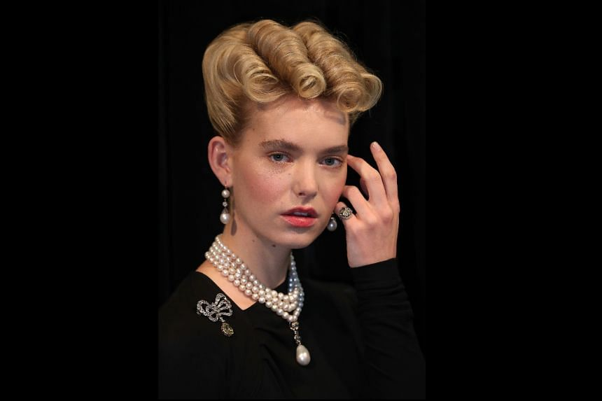 The jewellery that has been put up for auction includes Queen Marie Antoinette's Pearl, a natural pearl and diamond pendant; a natural pearl and diamond necklace; and a pair of natural pearl and diamond pendant earrings.