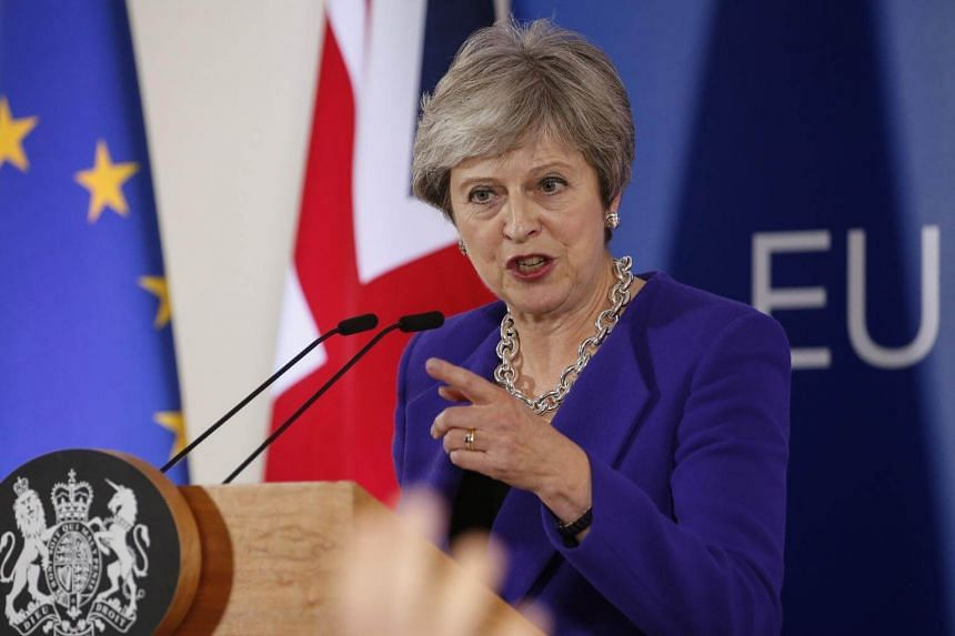 British Prime Minister Theresa May will repeat her opposition to the EU proposal as she tries to ease growing frustration among her parliamentary partners, a Northern Irish party.