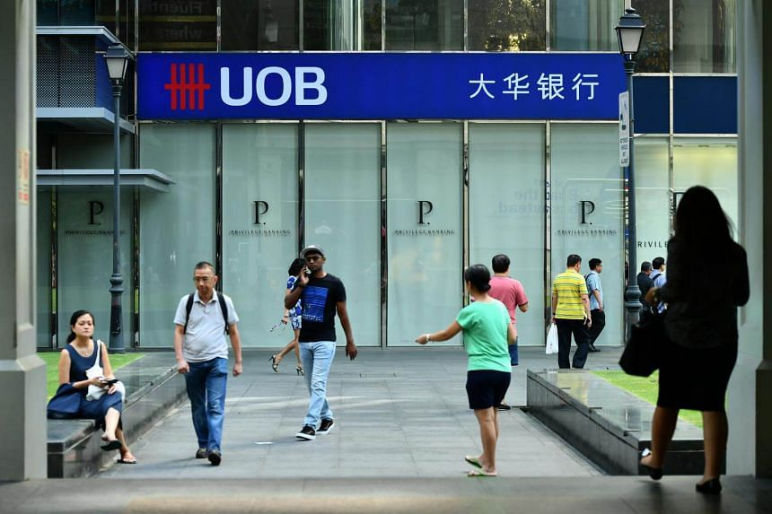 United Overseas Bank said it is the first bank in Singapore to digitalise all consumer banking product applications.