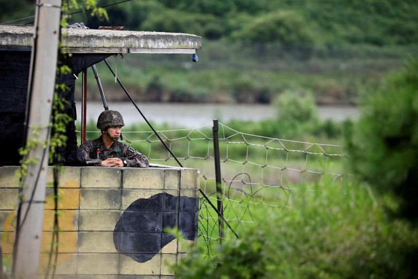 The two Koreas are looking to withdraw 11 guard posts within a 1-km radius of the Military Demarcation Line on their border by the end of 2018.
