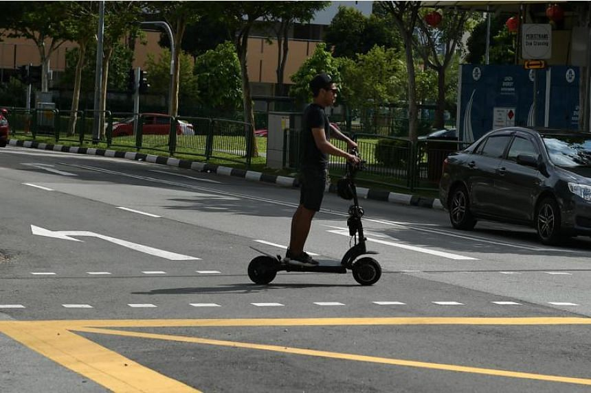 E-scooters are already becoming a popular - if occasionally divisive - mode of transport among food delivery people and city commuters in Singapore.