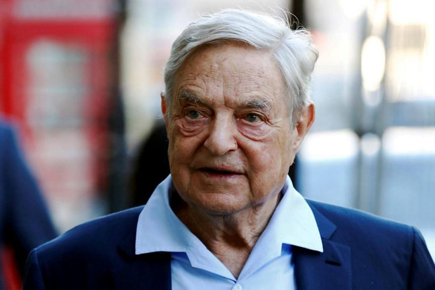 Billionaire philanthropist George Soros was not home at the time.