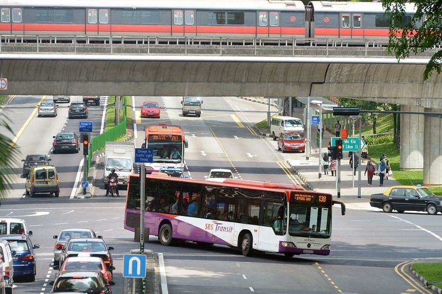 Singapore had an index score of 4.8, meaning that, on average, a typical family that uses public transport daily here spends about 4.8 per cent of its disposable income on public transport.