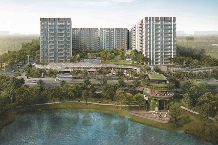 Artist's impression of The Woodleigh Residences.