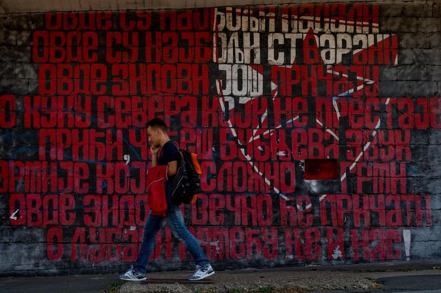 Red Star Belgrade, embroiled in a Champions League match-fixing scandal, have erected a wall of silence around their Marakana stadium ahead of their next match in the competition against Liverpool on Oct 24, 2018.