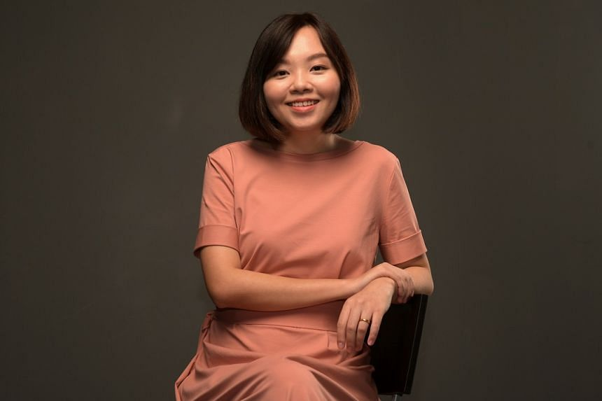 Faith Ng was talent-spotted when she took up a playwriting course at NUS.