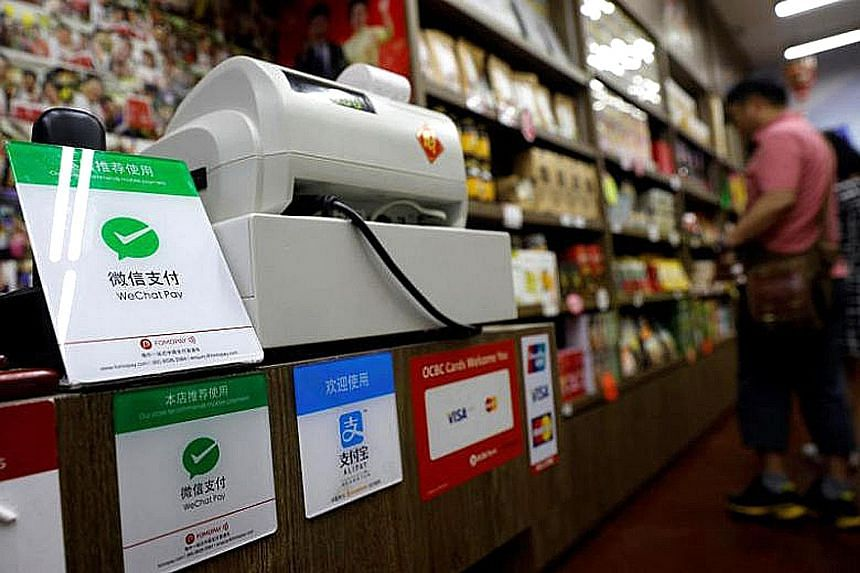 WeChat Pay is being piloted in Singapore at 7-Eleven and Guardian stores in Changi Airport, as well as in Orchard Road and Chinatown.