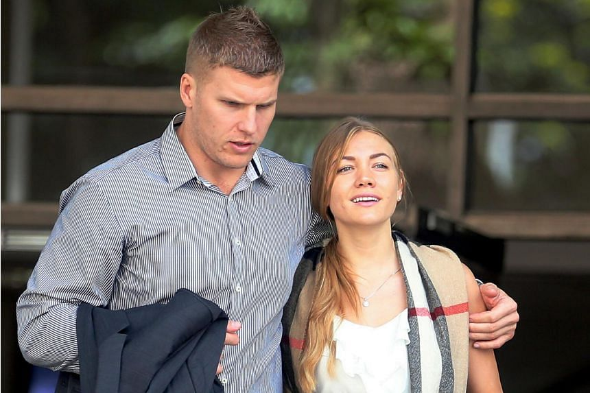Svetlana Filimonova, who is unemployed, was fined $500 and sentenced to two weeks' jail on Oct 24, 2018. Her husband, project manager Males Milan, was fined $4,500.