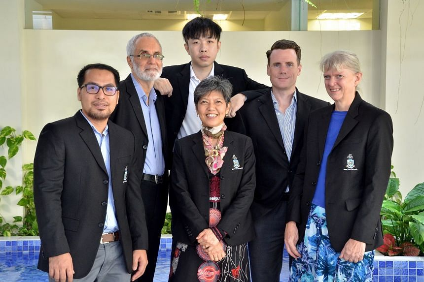 The Learning Support team at James Cook University: (L to R) Mr Nimrod Delante, Dr George Jacobs, Dr Stanley Loo, Mrs Hwee Leng Toh-Heng, Mr Michael James Joyce, Ms Esther Fink. PHOTO: JAMES COOK UNIVERSITY