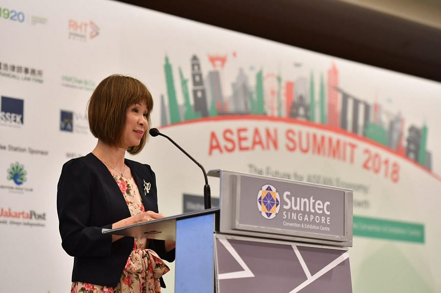 Dr Amy Khor, Senior Minister of State for the Environment and Water Resources, urged those present to work towards strengthening the region's environmental resilience.