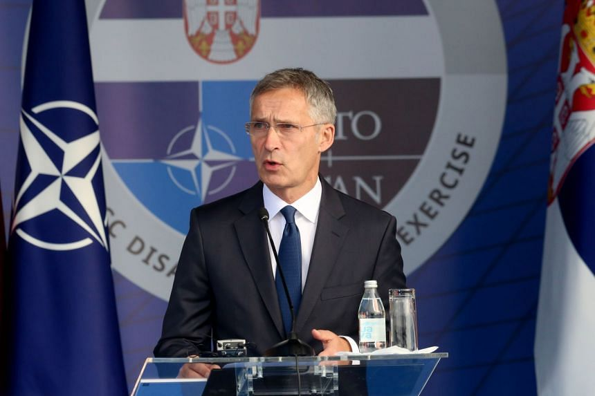 Nato chief Jens Stoltenberg acknowledged that the decision by US President Donald Trump to build up the US nuclear arsenal in response to Russia's SSC-8 missile programme did not have unanimous support among his Nato allies.
