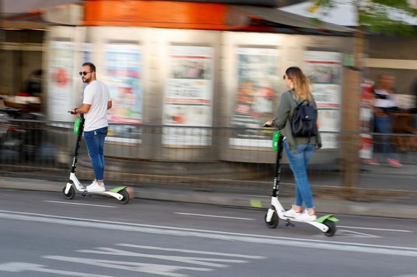 The sudden rise in use of the electric scooters in Madrid has raised concern over their danger to pedestrians.