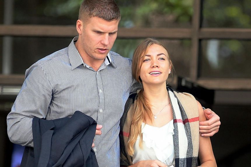 Svetlana Filimonova and her Australian husband Males Milan, both aged 29, pleaded guilty to their offences on Oct 2. She had assaulted a policewoman trying to calm her and he had punched a man trying to separate the couple during their quarrel.