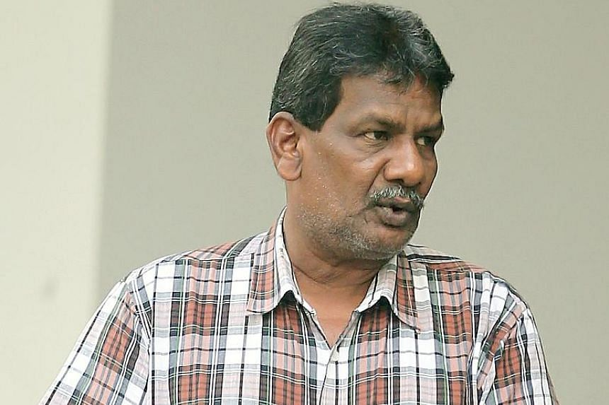 Elankovan Marimuthu, 58, allegedly placed a toy grenade next to a fire hydrant at the Istana Park on Nov 3 last year.
