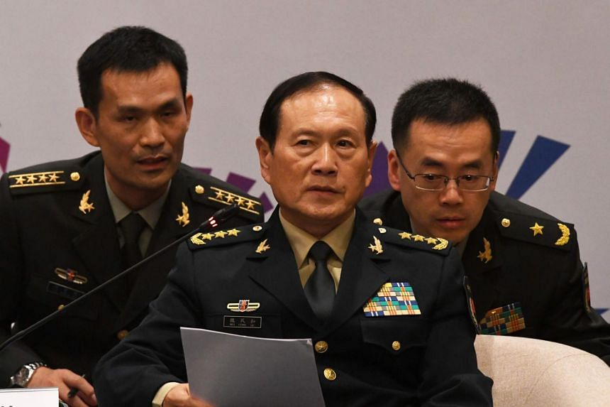"Defence minister Wei Fenghe warned that it is ""extremely dangerous"" to repeatedly challenge China's bottom line in territorial matters."