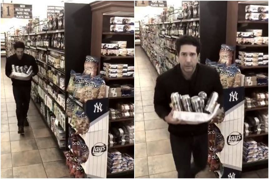 Friends star David Schwimmer jokingly protested his innocence with a witty video on Twitter after police in Britain asked the public to identify a grocery store thief with an uncanny resemblance to him.