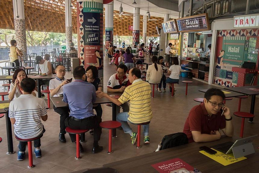 Some new hawker centres, such as Bukit Panjang Hawker Centre & Market, Yishun Park Hawker Centre and Pasir Ris Central Hawker Centre (pictured), have well-planned spaces.