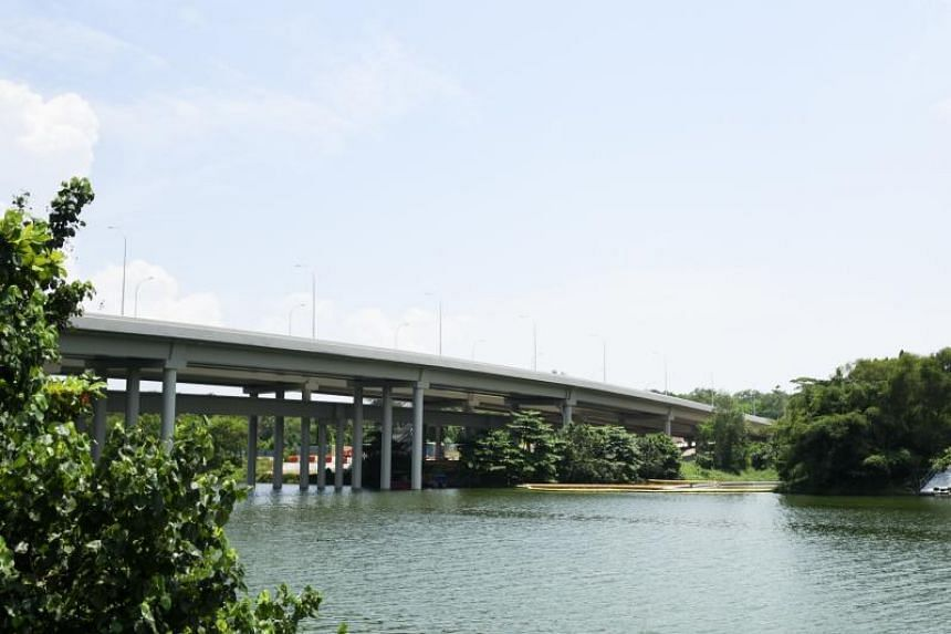 First announced in 2014, the $185 million expansion of the intersection between the KPE and TPE included the building of roads, three vehicular bridges crossing Sungei Serangoon and Sungei Blukar, and a new flyover across the TPE.