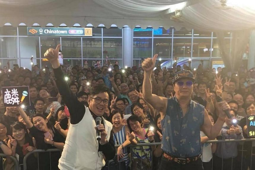 Sam Hui and Alan Tam will be performing together in Singapore for the first time on Dec 1, 2018.