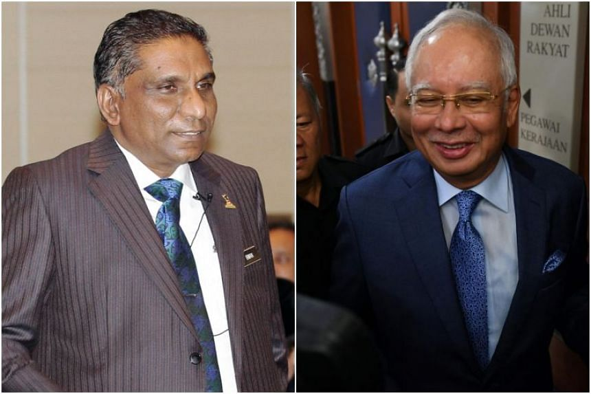 Malaysia's former treasury secretary-general Mohd Irwan Serigar Abdullah and former prime minister Najib Razak are jointly charged with six counts of criminal breach of trust involving government funds.